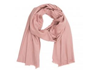 Růžový šátek - 90*180 cm