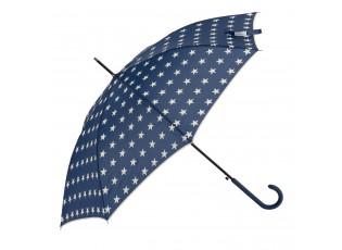 Modrý deštník s hvězdami - Ø 98*55 cm