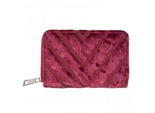 Červená peněženka Vanni - 8*13 cm