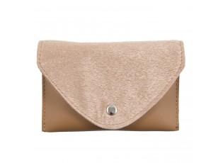 Béžová pásová kabelka s páskem - 17*11/110 cm