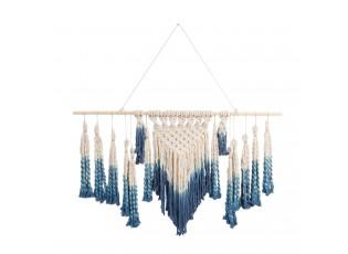 Provázková bavlněná nástěnná dekorace - 120*70 cm