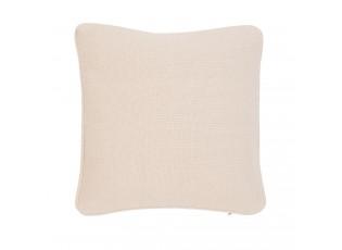 Béžový bavlněný povlak na polštář - 40 x 40 cm
