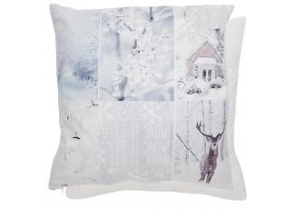 Povlak na polštář s vánočním motivem Real Animals - 45 x 45 cm