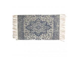 Bavlněný koberec s orientálním motivem a třásněmi - 70*120 cm