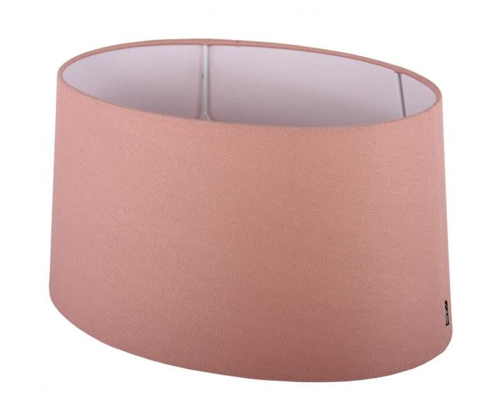 Růžové stínidlo ovál Ambienta pink - 35*24,5*17cm / E27