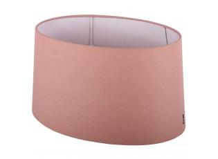 Růžové stínidlo ovál Ambienta pink - 40*28*20,5cm / E27