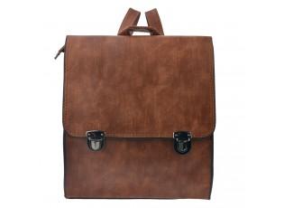 Hnědý batoh Aristide - 30*27 cm