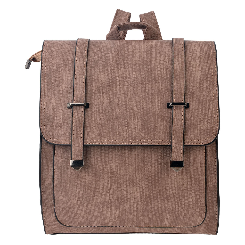Clayre & Eef Béžový batoh Crobin - 30*27 cm