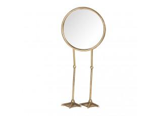 Stolní zrcadlo na ptačích nožkách - 20*10*47 cm