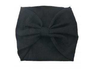 Černá dámská pleteninová čelenka Waness - 10*23 cm