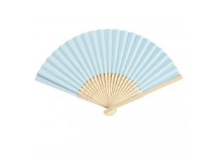 Bledě modrý vějíř - 20 cm