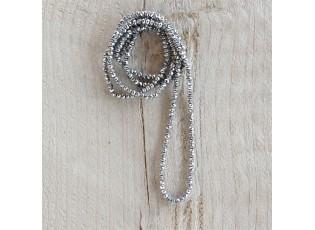 Stříbrný korálkový náhrdelník - 4mm*1m