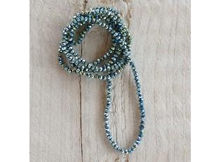 Tyrkysový náhrdelník z korálků - 4mm*1m