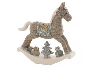 Dekorace houpací koník - 12*3*13 cm