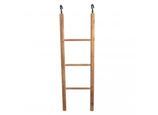 Držák na ručníky / dekorační dřevěný žebřík - 40*4*130 cm