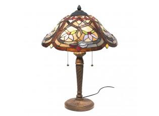 Stolní lampa Tiffany Malai - Ø 40*54 cm E27/2*60W