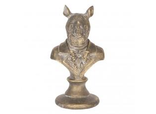 Dekorační socha Nosorožce - 11*11*20 cm