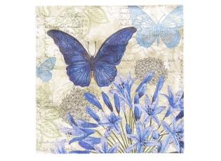 Papírové ubrousky motýl - 33*33 cm (20)