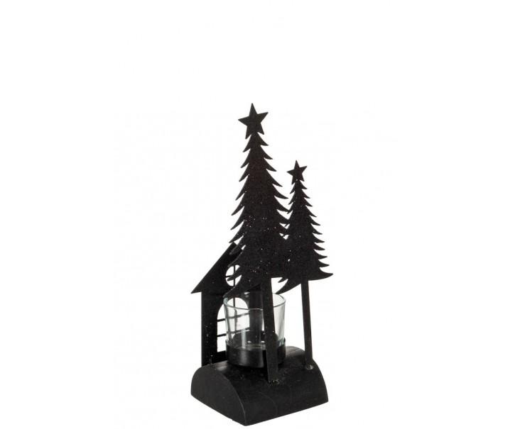 Krásný svícen na čajovou svíčku ve vašem domově zazáří a zároveň bude nepřehlédnutelnou dekorací.