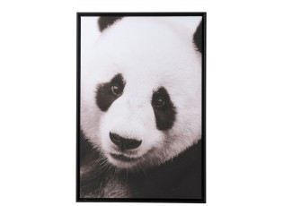 Nástěnný obaz Panda v dřevěném rámu - 64*4,3*94 cm