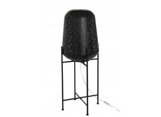 Černá kovová orientální stojací lampa Oriental - 35*35*94 cm