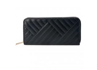 Dámská černá peněženka - 19*9 cm