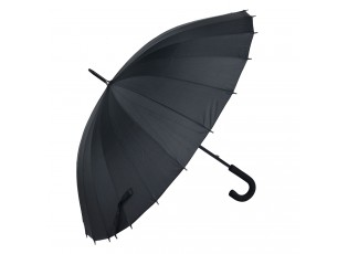 Černý deštník - Ø 93*90 cm