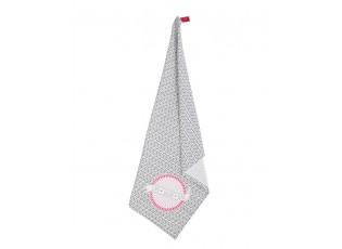 Kuchyňská bavlněná utěrka s potiskem a nápisem Love - 50*70 cm