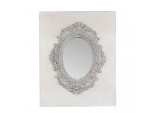 Zrcadlo v zámeckém stylu se šedým rámem - 39*4*50 cm