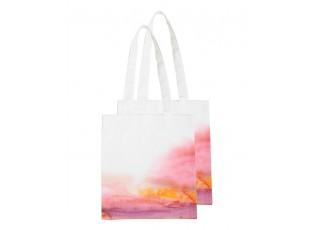 Látková taška s motivem západu slunce - 30*40 cm