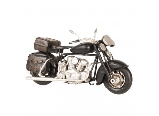 Retro model motorky v kovovém provedení - 19*8*11 cm
