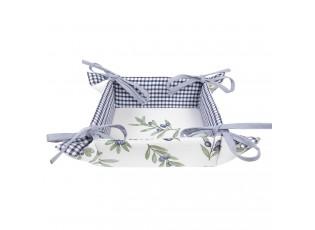 Bavlněný košíček na pečivo Olive Garden - Ø 35*8 cm