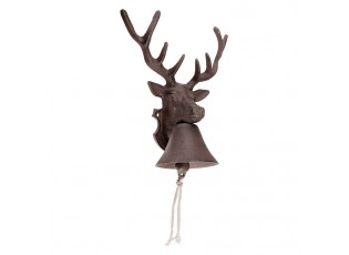 Litinový zvonek Jelen - 22*14*27cm