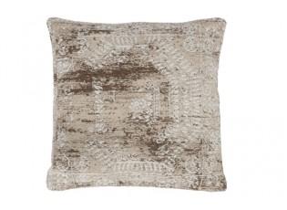 Béžovo-krémový polštář s ornamenty Vintage- 45*45cm
