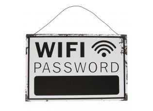 Plechová cedulka Wifi - 30*20 cm