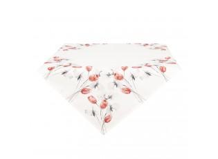 Ubrus na stůl s tulipány - 85*85 cm