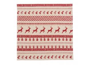 Textilní ubrousky Nordic Christmas (6ks) - 40*40 cm
