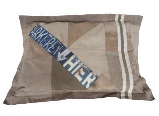 Khaki válecí polštář na zem Army- 80*110cm