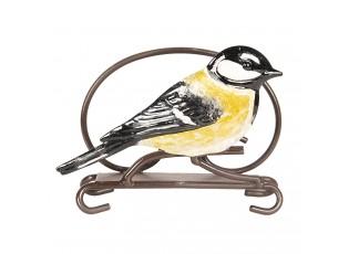 Držák na ubrousky s ptáčkem - 13*5*10 cm