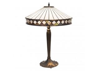 Stolní lampa Tiffany Diamant - Ø 41*59 cm
