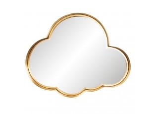 Zrcadlo se zlatým okrajem ve tvaru mraku - 72*6*58 cm