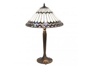 Tiffany stolní lampa Femma - Ø 40*62 cm