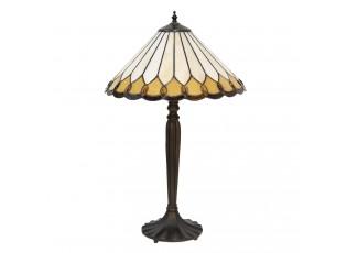 Tiffany stolní lampa Shantell - Ø 40*62 cm