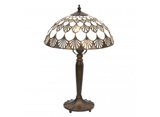 Stolní lampa Tiffany Coquilles - Ø 31*46 cm