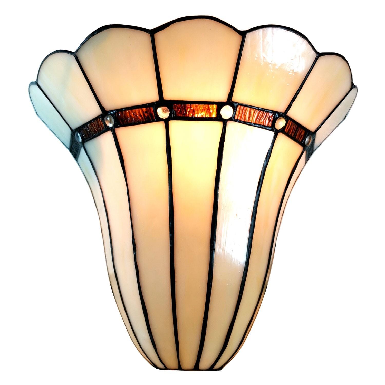 Nástěnná lampa Tiffany Genna - 28*18*33 cm