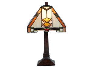 Stolní lampa Tiffany Arrow - 22*22*38 cm 1x E14 / Max 40W
