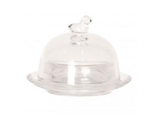 Skleněná miska na máslo - Ø 9*7 cm