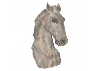Dekorace hlava koně - 27*17*39 cm