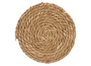 Kulatý podtácek z mořské trávy - Ø 18 cm