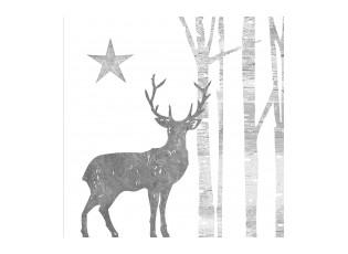 Papírové ubrousky s jelenem Deer I - 33*33 cm (20)